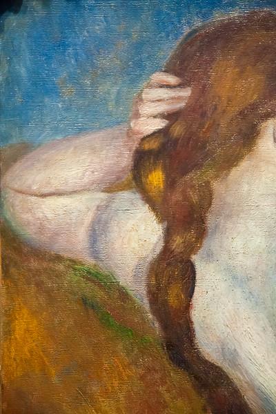 Reclining Nude; Auguste Renoir; 1883
