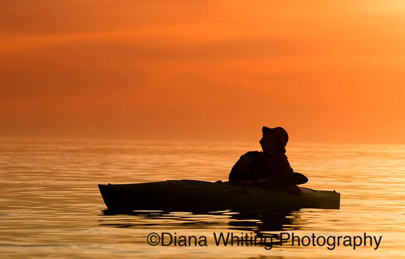 Kayaking  Lake Ontario