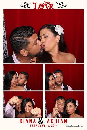 Diana & Adrian's Wedding
