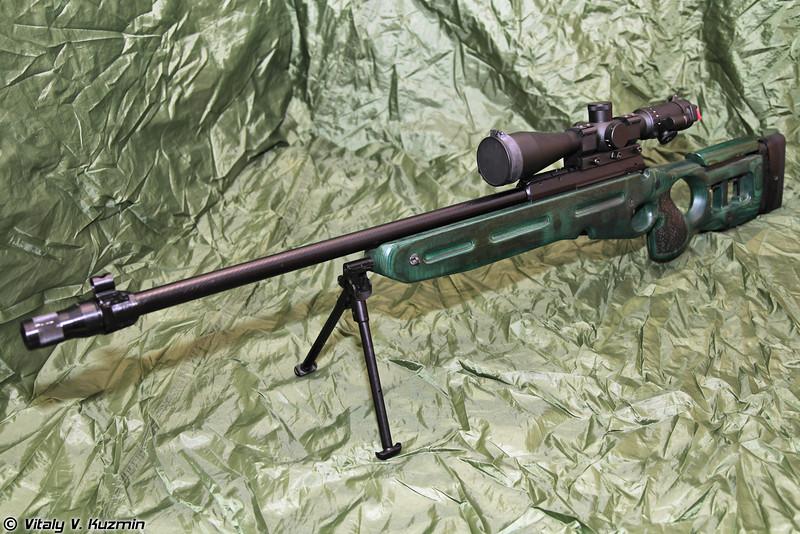 SV-98 and OVL-3 sniper rifles