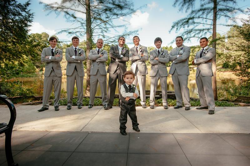 Bridesmaids, Groomsman and Families