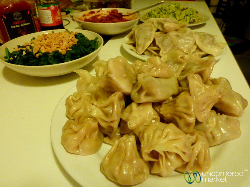 Khinkale (Georgian Dumplings) and Chinese Food in Berlin