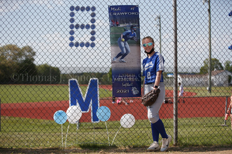 Lyman Memorial High School Softball vs Killingly (Senior Night)