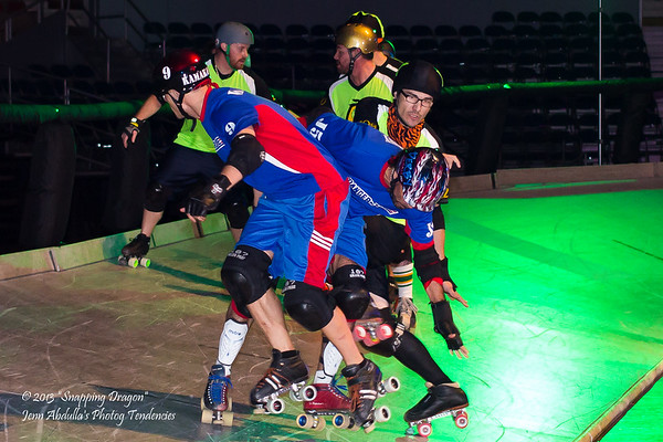 Phx Rattleskates Dangerzone vs The Sting 1-12-13