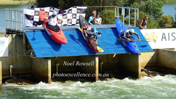 2021 Penrith Open Canoe Slalom Series - Extreme Slalom 7th March