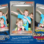2017-04-29 Dungeons End Pokemon Prerelease photo booth in Duluth
