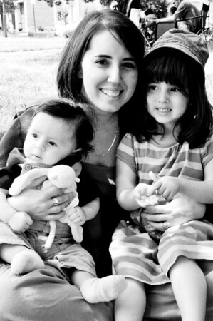 Lynn with kids - May 2012