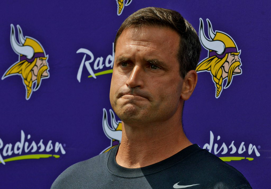 """. 3. (tie) MIKE PRIEFER <p>Might be finished apologizing for his nuke comment by the end of the decade. (unranked) </p><p><b><a href=\""""http://www.twincities.com/vikings/ci_26209882/vikings-mike-priefer-ive-failed\"""" target=\""""_blank\""""> LINK </a></b> </p><p>    (Pioneer Press: John Autey)</p>"""
