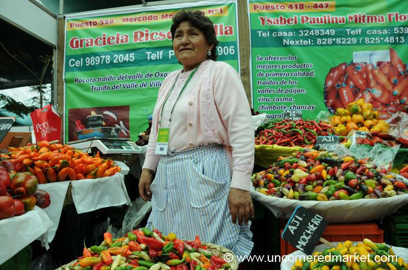 Aji Queen - Mistura Gastronomy Festival in Lima, Peru