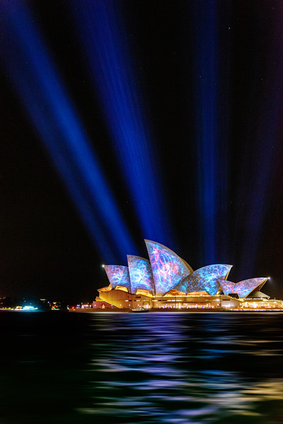 Vivid Sydney - Lighting of the Sails