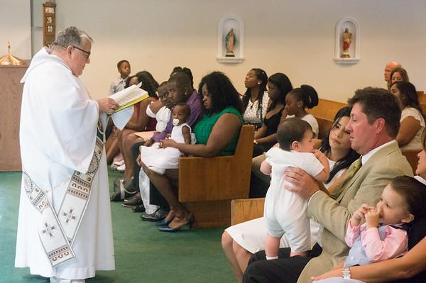 Arturo's Baptism