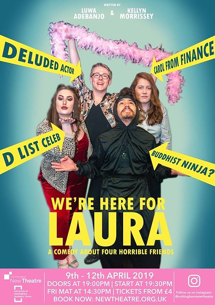 We're Here For Laura poster