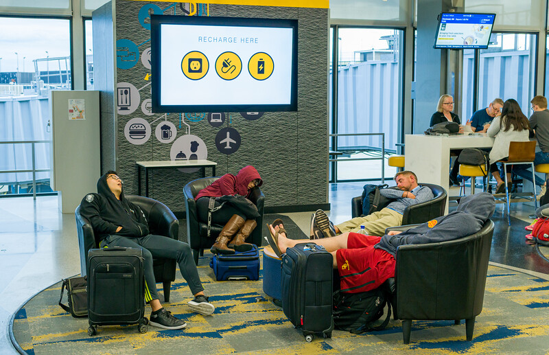 Recharge here #chicago, #ohareairport, #fatigue