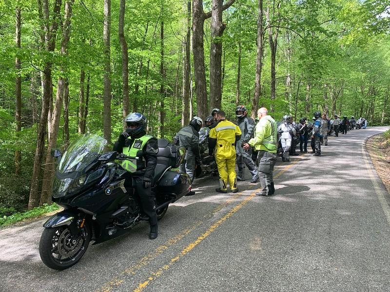 Wednesday Ride, K1600 Tame the Dragon, North Carolina, May 2019