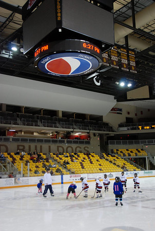 8U Spartans vs. Icebreakers at Amsoil Arena