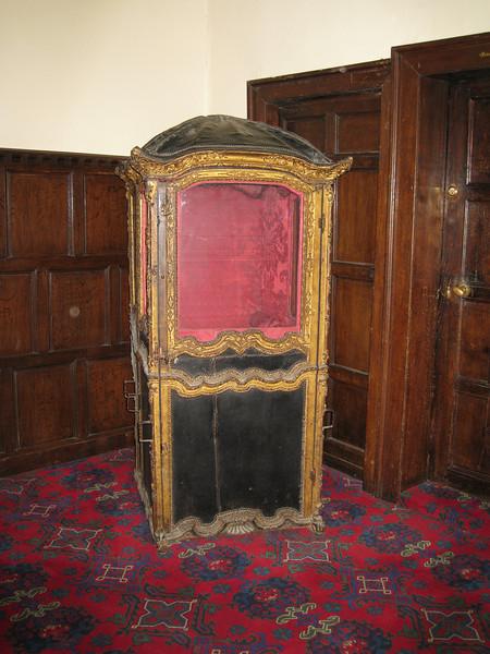 Sedan Chair; Wroxton Abbey