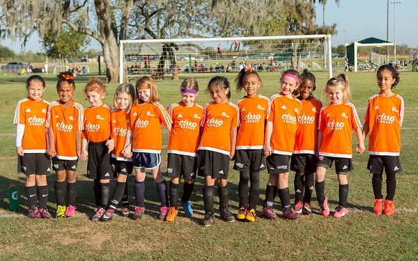 Fall 2016 Soccer Week 10 - U8 Cheetah Girls