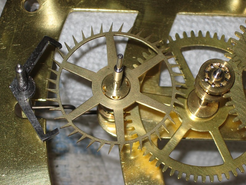 Escapement and 4th wheel