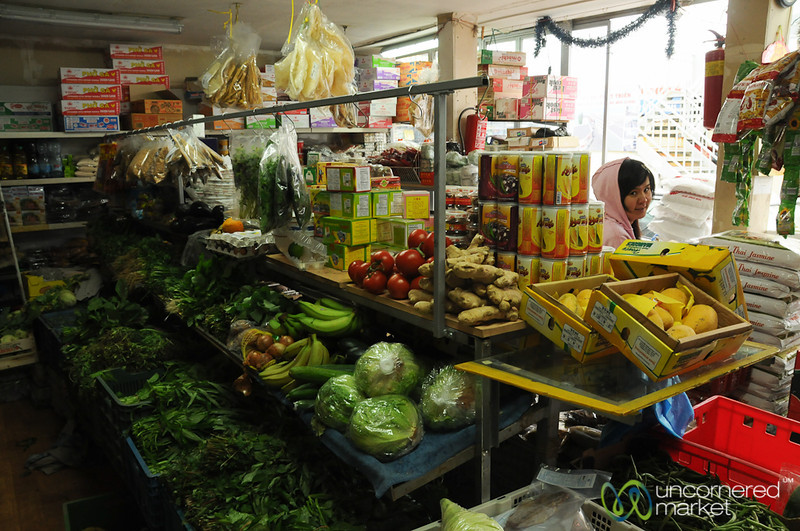 Stocking up on Asian Foods in Prague, Czech Republic