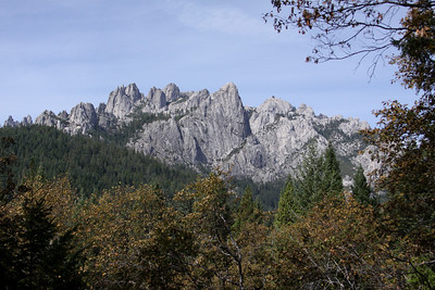 Castle Crags Lookout - Fall 2010
