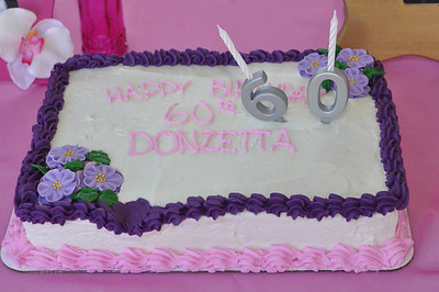 Donzetta's  60th Birthday