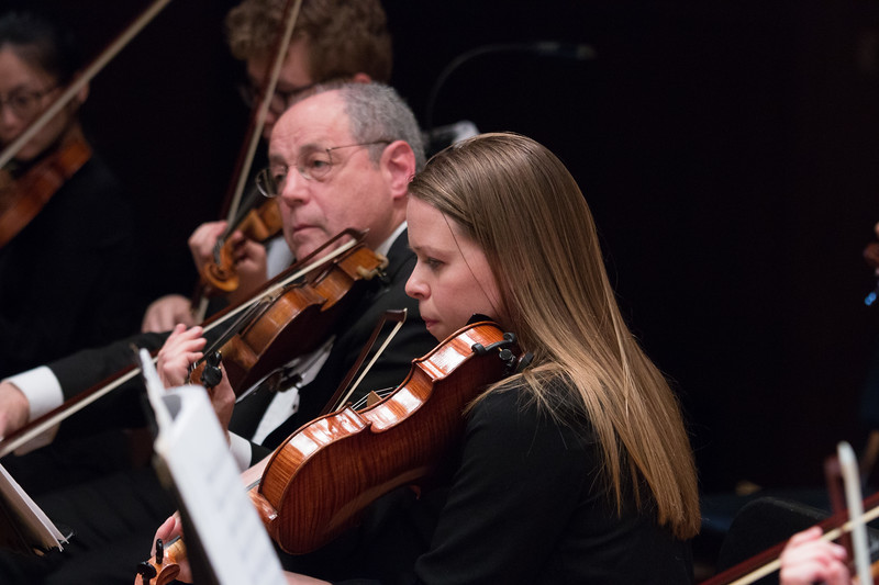 Bill Brown, Eleanor Chodroff --Hopkins Symphony Orchestra, April 2017