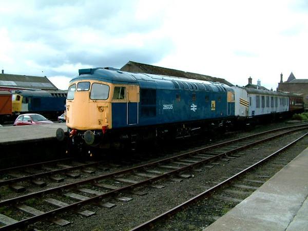 26035 at Brechin on the 5th May 2003