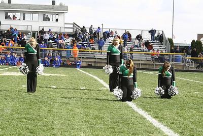 Maplettes & Cheerleaders Halftime Performances (11/2)