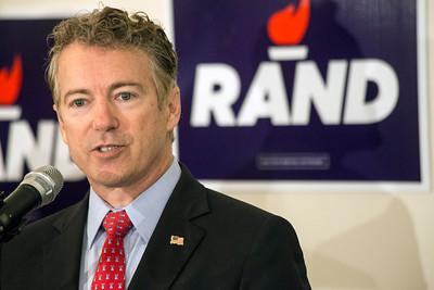 #1008 Rand Paul Signs Bid For President/Senator, 11/30/15