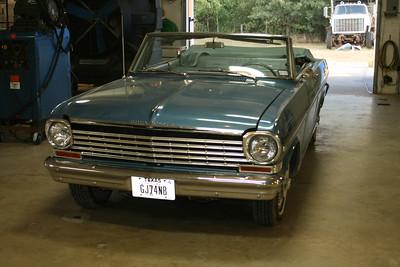 1963 Chevy Nova Convertible