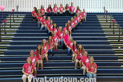 Varsity Volleyball: Dig Pink at Stone Bridge (10-8-2013 by Jeff Scudder)