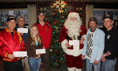 Legion Donates to Toys For Tots, Fire Co., Police, Lansford Alive, American Legion, Lansford (12-21-2013)