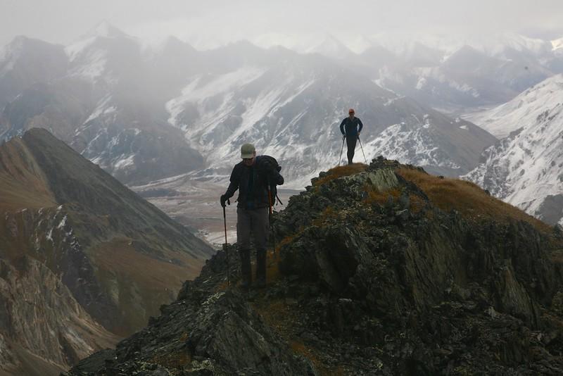 Ridge hiking - Arctic National Wildlife Refuge