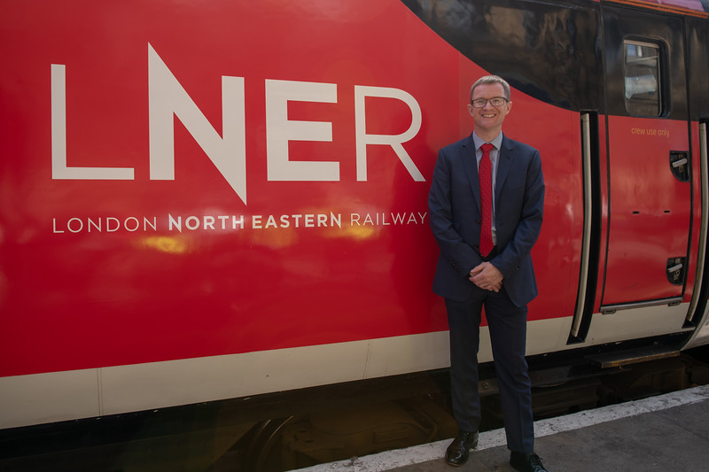 LNER New Livery Launch