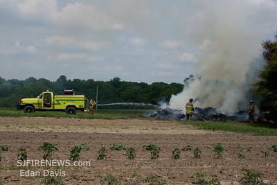 06-11-2012, Brush, Pilesgrove Twp. Salem County, Woodstown Daretown Rd.