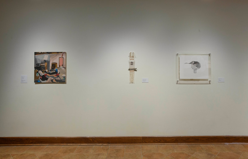 Juried Alumni Exhibition 2019; Installation View