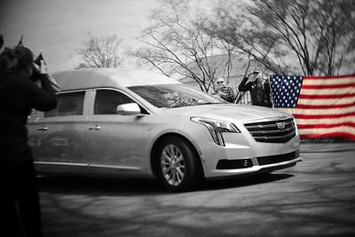 Dalton F. Drake Funeral Procession