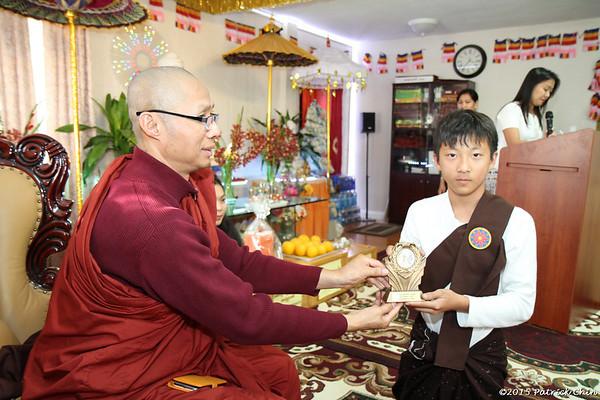 Buddhist Culture Class Awards