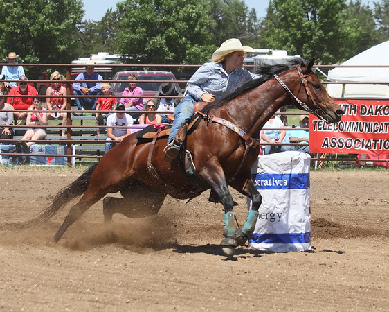 2016 SD East Region High School Rodeo - Saturday Events