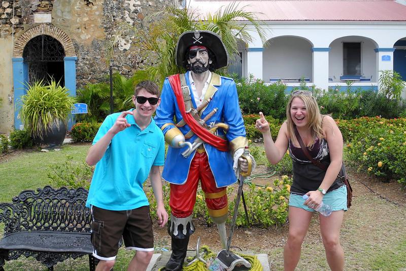 We visited Bluebeard's castle, Blackbeard's low key brother