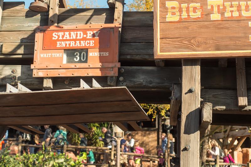 Big Thunder Mountain Railroad Wait - Magic Kingdom Walt Disney World