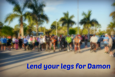 Lend your legs for Damon