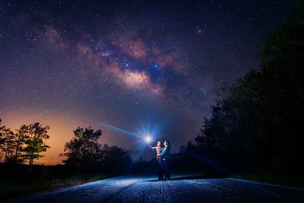Sarah & Ruth Under the Stars