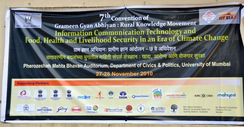 MSSRF's GGA (Grameen Gyan Abhiyan) Rural Knowledge Movement Seventh Convention