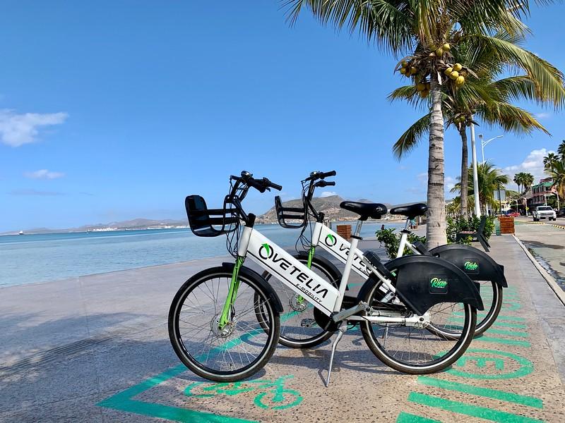 Bikes in La Paz Mexico