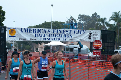 Marina's First 5k; The 33rd Annual America's Finest City Half Marathon & 5K