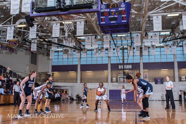 Broughton girls varsity basketball vs Millbrook. February 15, 2019. 750_7305