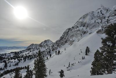 01292016   Ski Utah instagram , Olympic tram and mtn scenics, dogs and ski patrol