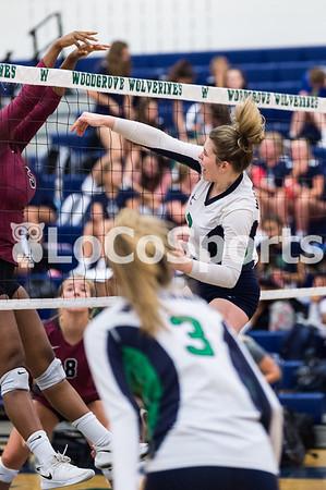 Volleyball: Woodgrove 3, Rock Ridge 0 by Jeff Vennitti on September 10, 2019
