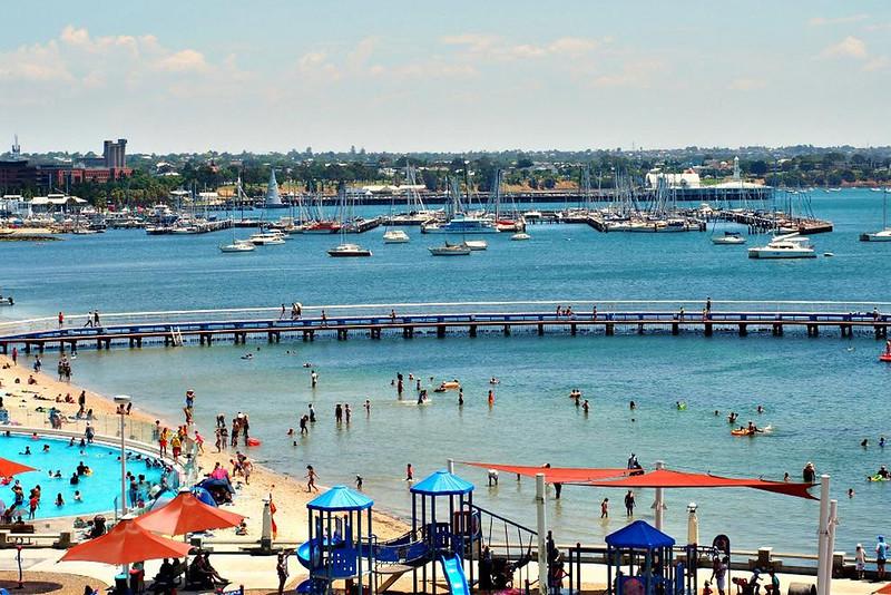 australian destinations geelong waterfront